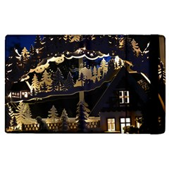 Christmas Advent Candle Arches Apple Ipad 2 Flip Case