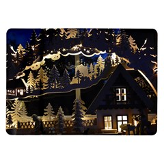 Christmas Advent Candle Arches Samsung Galaxy Tab 10 1  P7500 Flip Case