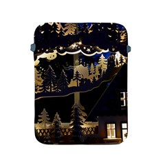 Christmas Advent Candle Arches Apple Ipad 2/3/4 Protective Soft Cases