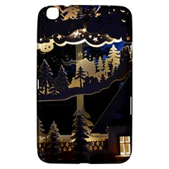 Christmas Advent Candle Arches Samsung Galaxy Tab 3 (8 ) T3100 Hardshell Case