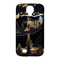 Christmas Advent Candle Arches Samsung Galaxy S4 Classic Hardshell Case (pc+silicone)