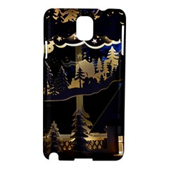 Christmas Advent Candle Arches Samsung Galaxy Note 3 N9005 Hardshell Case