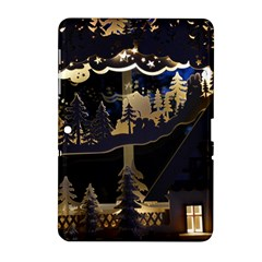 Christmas Advent Candle Arches Samsung Galaxy Tab 2 (10 1 ) P5100 Hardshell Case