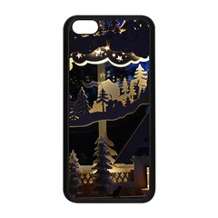 Christmas Advent Candle Arches Apple Iphone 5c Seamless Case (black)