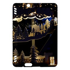 Christmas Advent Candle Arches Kindle Fire Hdx Hardshell Case