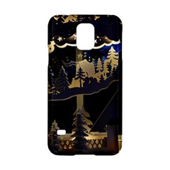 Christmas Advent Candle Arches Samsung Galaxy S5 Hardshell Case