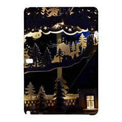 Christmas Advent Candle Arches Samsung Galaxy Tab Pro 12 2 Hardshell Case