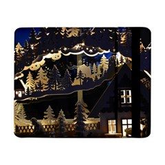 Christmas Advent Candle Arches Samsung Galaxy Tab Pro 8 4  Flip Case