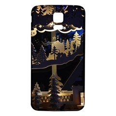Christmas Advent Candle Arches Samsung Galaxy S5 Back Case (white)
