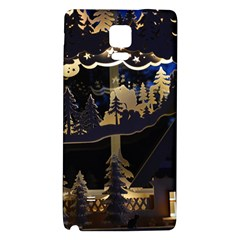Christmas Advent Candle Arches Galaxy Note 4 Back Case