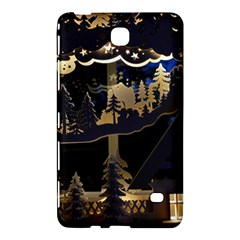 Christmas Advent Candle Arches Samsung Galaxy Tab 4 (7 ) Hardshell Case