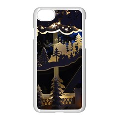 Christmas Advent Candle Arches Apple Iphone 7 Seamless Case (white)