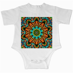 Color Abstract Pattern Structure Infant Creepers