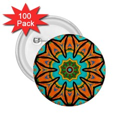 Color Abstract Pattern Structure 2 25  Buttons (100 Pack)