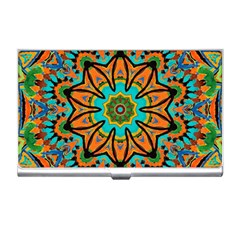 Color Abstract Pattern Structure Business Card Holders