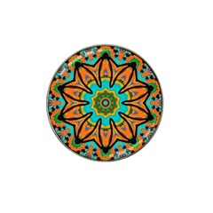 Color Abstract Pattern Structure Hat Clip Ball Marker