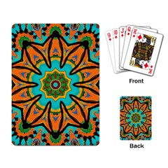 Color Abstract Pattern Structure Playing Card