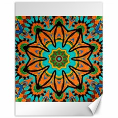 Color Abstract Pattern Structure Canvas 12  X 16