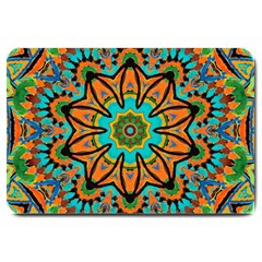 Color Abstract Pattern Structure Large Doormat