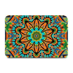 Color Abstract Pattern Structure Plate Mats
