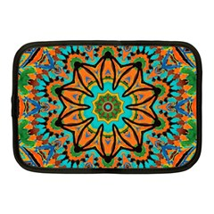 Color Abstract Pattern Structure Netbook Case (medium)