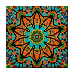 Color Abstract Pattern Structure Face Towel
