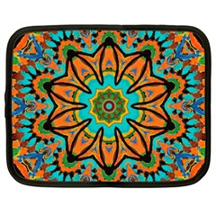 Color Abstract Pattern Structure Netbook Case (xxl)