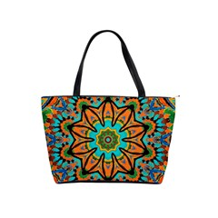 Color Abstract Pattern Structure Shoulder Handbags