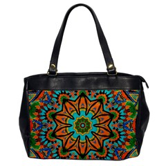 Color Abstract Pattern Structure Office Handbags