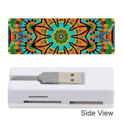 Color Abstract Pattern Structure Memory Card Reader (stick)