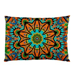 Color Abstract Pattern Structure Pillow Case (Two Sides)