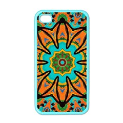 Color Abstract Pattern Structure Apple Iphone 4 Case (color)
