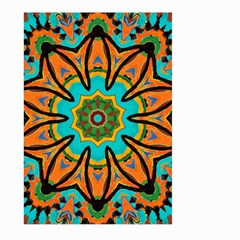 Color Abstract Pattern Structure Large Garden Flag (two Sides)