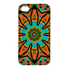Color Abstract Pattern Structure Apple Iphone 4/4s Premium Hardshell Case