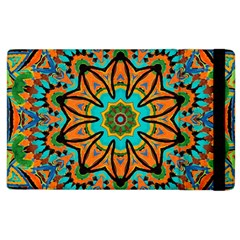 Color Abstract Pattern Structure Apple iPad 2 Flip Case