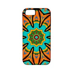 Color Abstract Pattern Structure Apple Iphone 5 Classic Hardshell Case (pc+silicone)