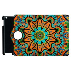 Color Abstract Pattern Structure Apple Ipad 3/4 Flip 360 Case