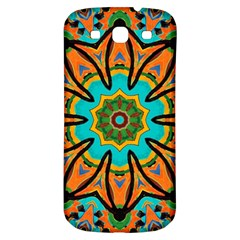 Color Abstract Pattern Structure Samsung Galaxy S3 S Iii Classic Hardshell Back Case