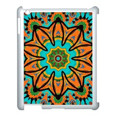 Color Abstract Pattern Structure Apple Ipad 3/4 Case (white)