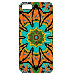 Color Abstract Pattern Structure Apple Iphone 5 Hardshell Case With Stand