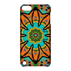 Color Abstract Pattern Structure Apple Ipod Touch 5 Hardshell Case With Stand