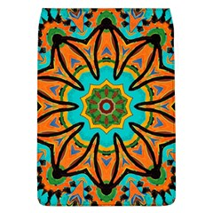Color Abstract Pattern Structure Flap Covers (l)