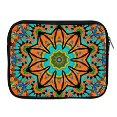 Color Abstract Pattern Structure Apple Ipad 2/3/4 Zipper Cases