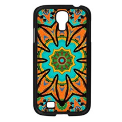 Color Abstract Pattern Structure Samsung Galaxy S4 I9500/ I9505 Case (black)
