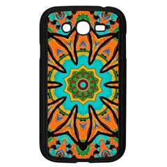 Color Abstract Pattern Structure Samsung Galaxy Grand Duos I9082 Case (black)