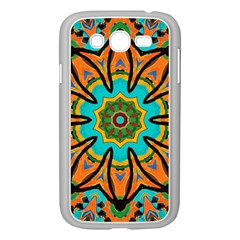Color Abstract Pattern Structure Samsung Galaxy Grand Duos I9082 Case (white)