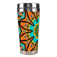 Color Abstract Pattern Structure Stainless Steel Travel Tumblers