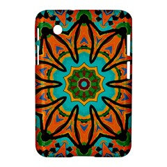 Color Abstract Pattern Structure Samsung Galaxy Tab 2 (7 ) P3100 Hardshell Case