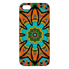 Color Abstract Pattern Structure Iphone 5s/ Se Premium Hardshell Case