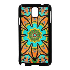 Color Abstract Pattern Structure Samsung Galaxy Note 3 Neo Hardshell Case (black)